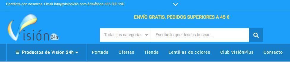Busqueda productos_Visión 24h