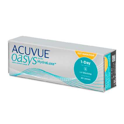 Acuvue Oasys 1 Day with HydraLuxe for Astigmatism