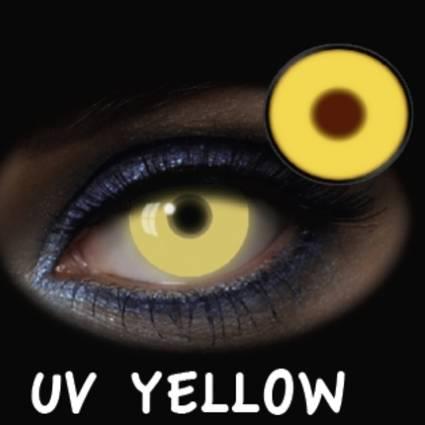 Lentillas amarillas UV Yellow