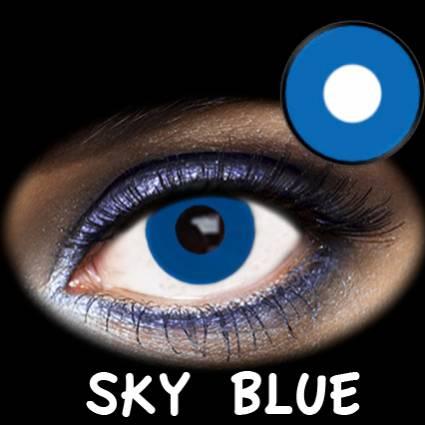 Lentillas azules sky blue